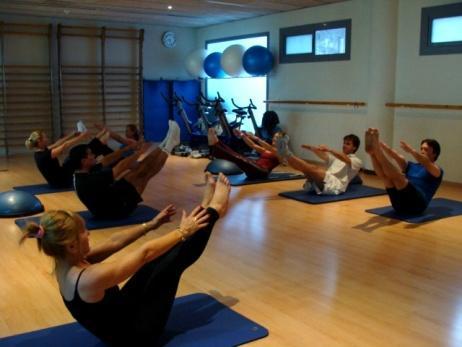 pilates, activitat, dirigida, classe, fitness, gimnàs, gim, sala, instalacions