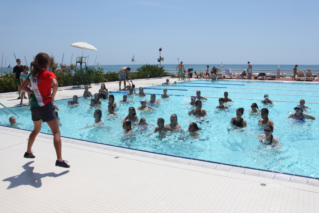 piscina, esport, aiguagim, nens, exterior