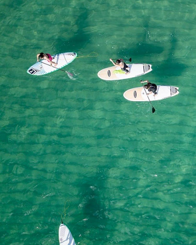 paddle surf, cnem, beach area, esport, mar, platja, escola