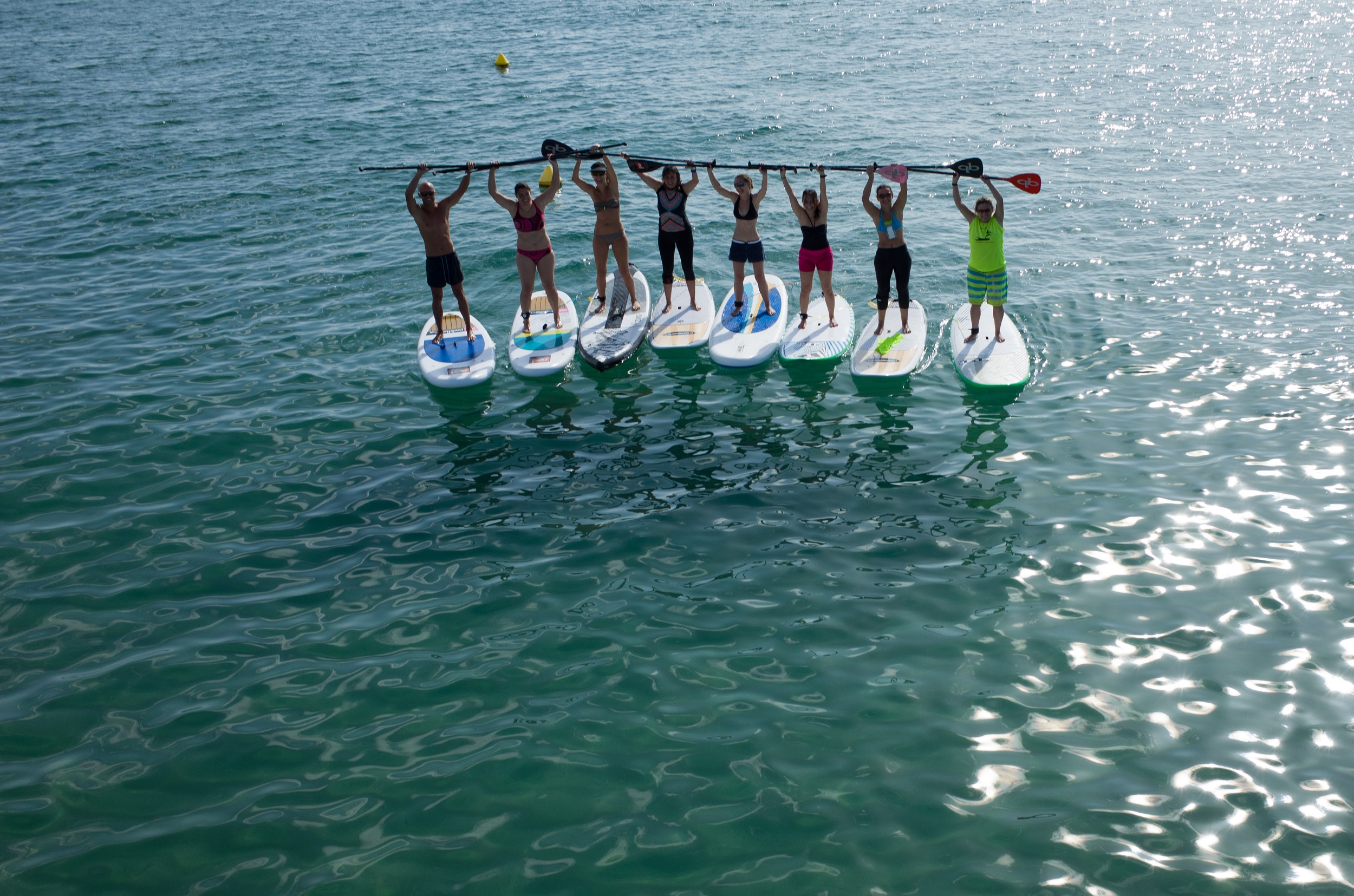 paddlesurf, cnem, beach area, esport, mar, platja, escola