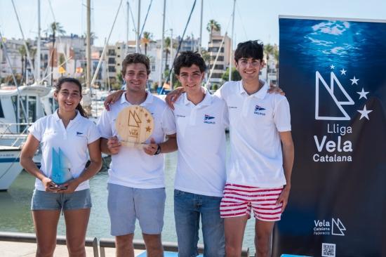 El Club Nàutic El Masnou Subcampió de la Lliga Vela Catalana - Vela -