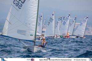 Campionat del Món de la Classe Europa al Club Nàutic el Balis - Vela -
