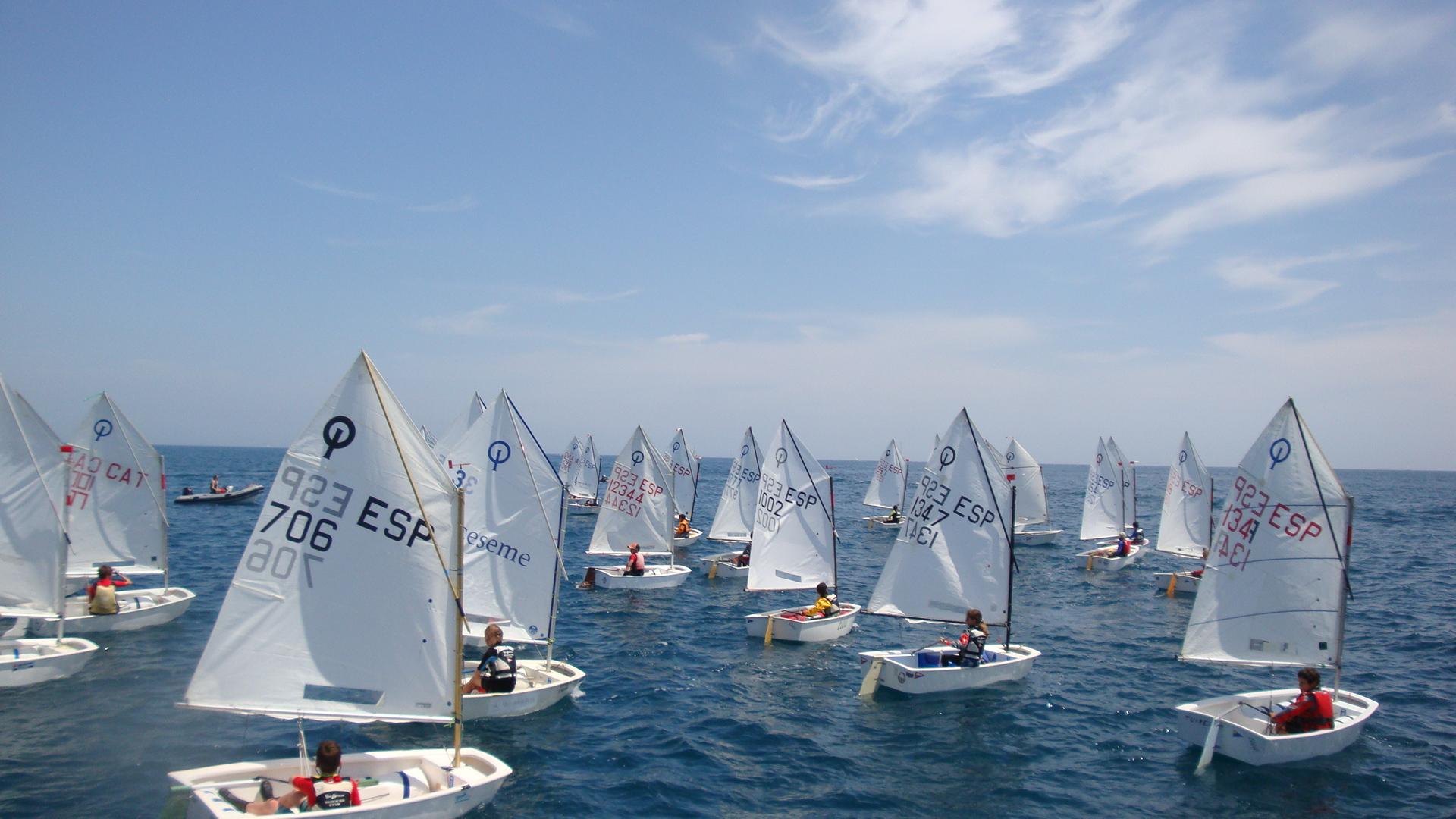 club nàutic el masnou, escola, vela, esport, salut, platja, mar, campus