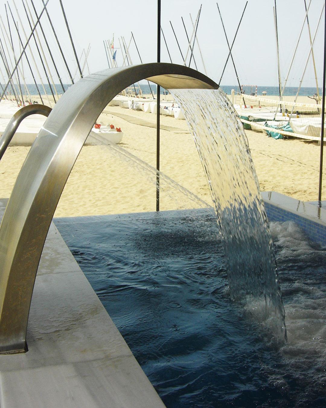 spa, piscina, interior, coberta, aigua, relax, instalacions, club, wellness
