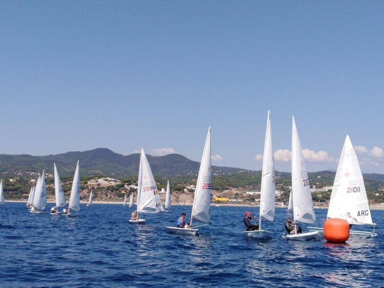 CAMPIONAT DE CATALUNYA DE LÀSER STÀNDARD I 4,7 A ARENYS - 470, Arenys de Mar, Campionat de Catalunya, laser -