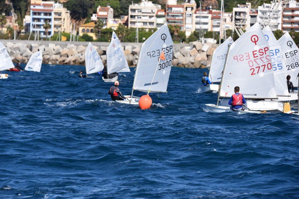 Campionat de Catalunya, optimist, regata