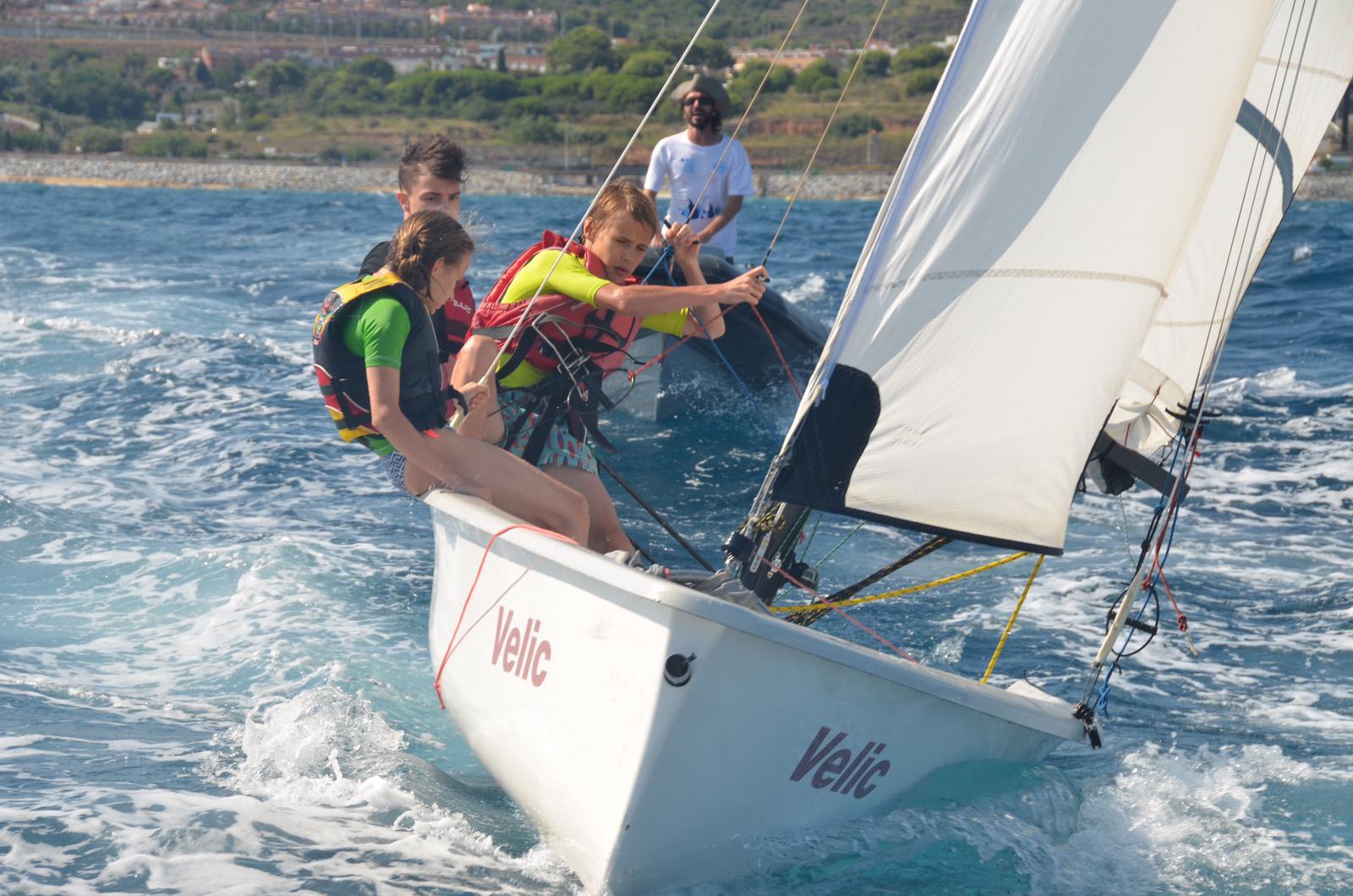 escola de vela, navegar, joves