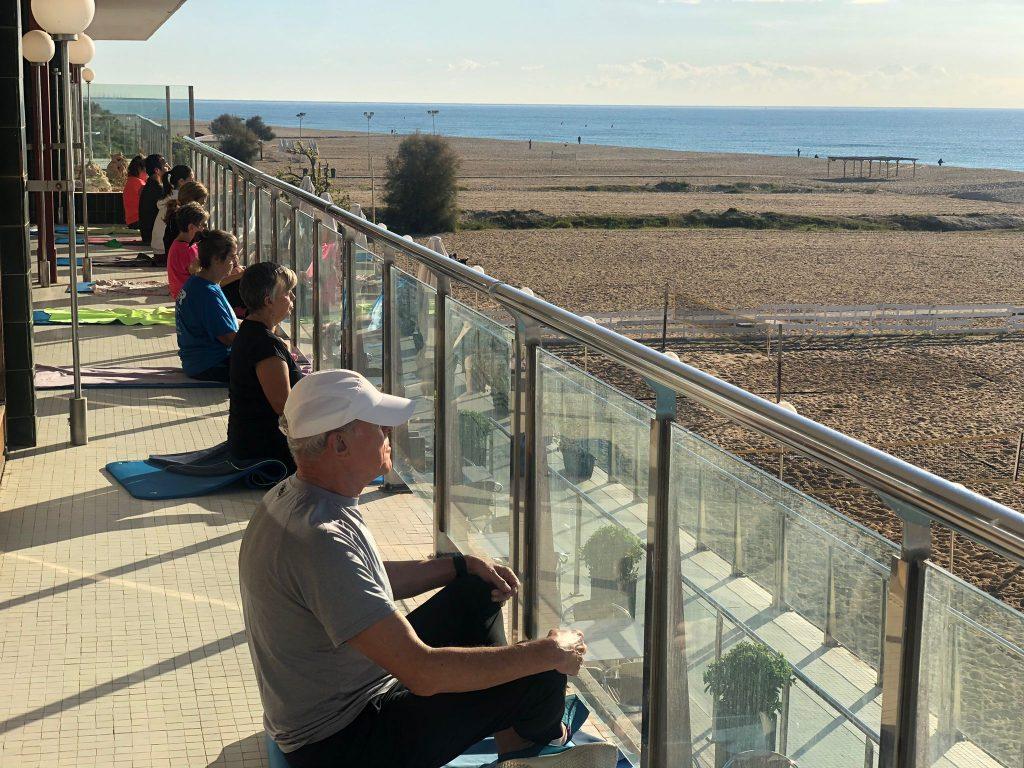 ioga, terrassa, fitness, activitat dirigida, instalacions, planta noble, exterior, sala