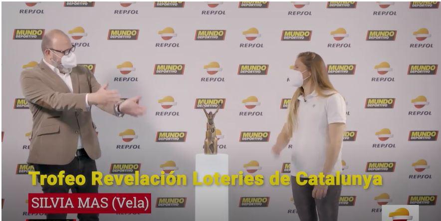 Sílvia Mas trofeu relevació