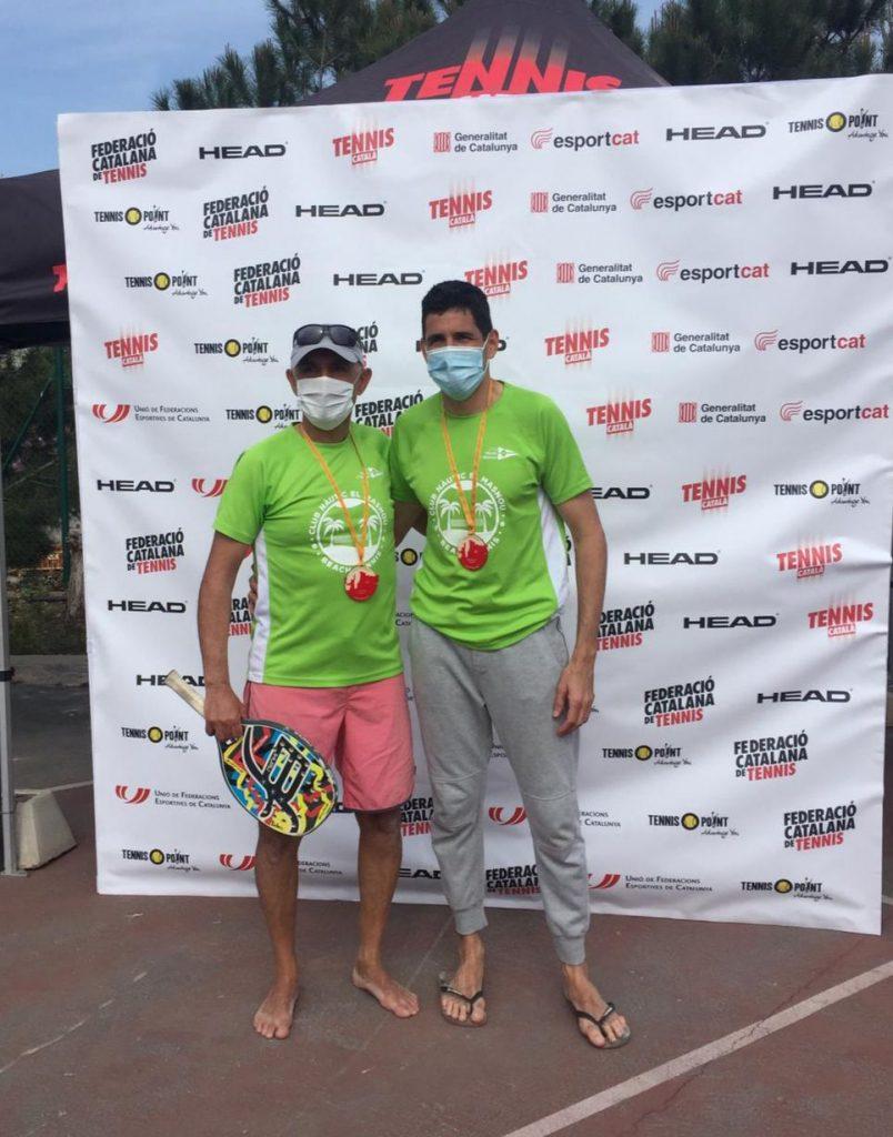 Beach Tennis, Campionat e Catalunya, 2021