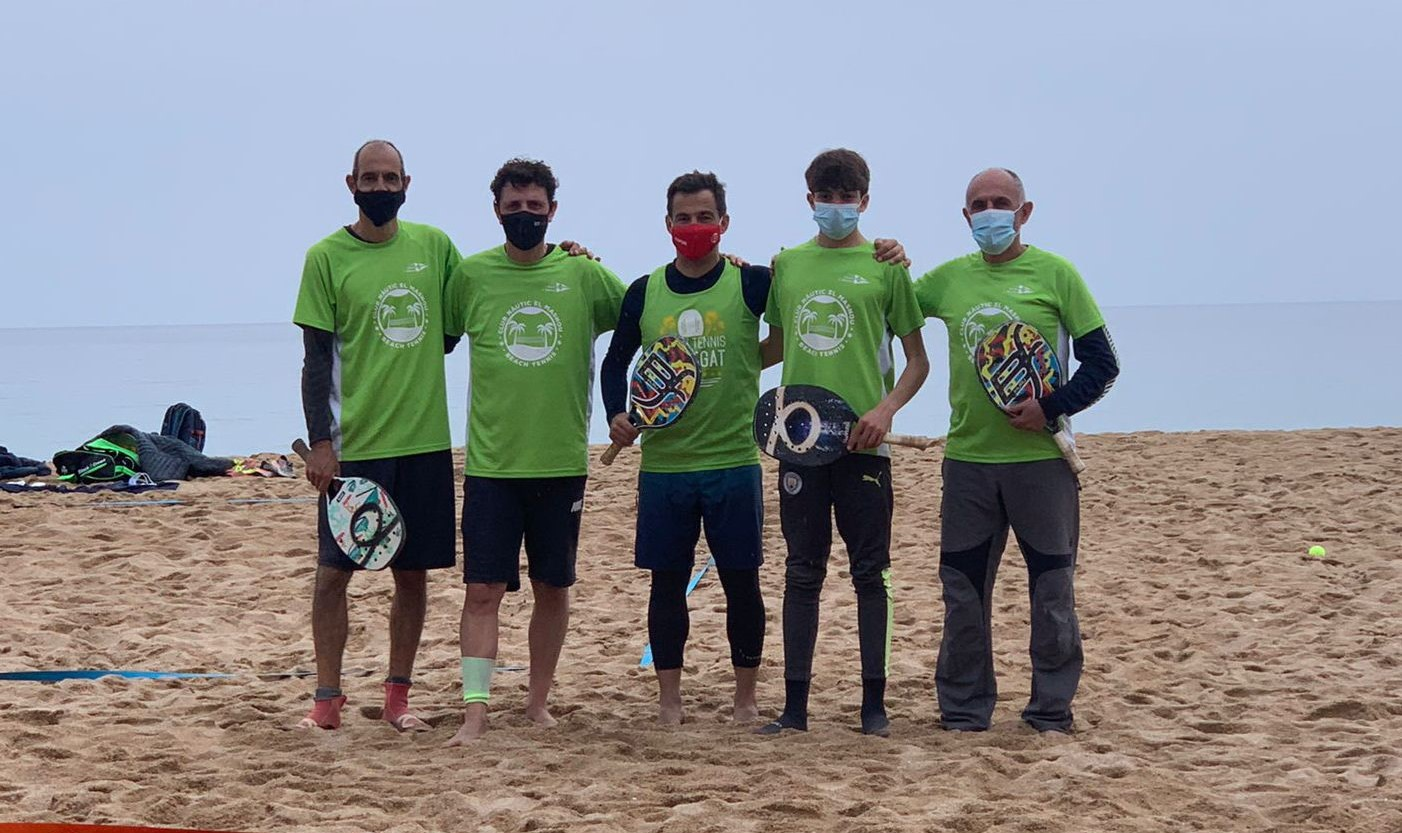 beach tennis, equip masculí B, cnem
