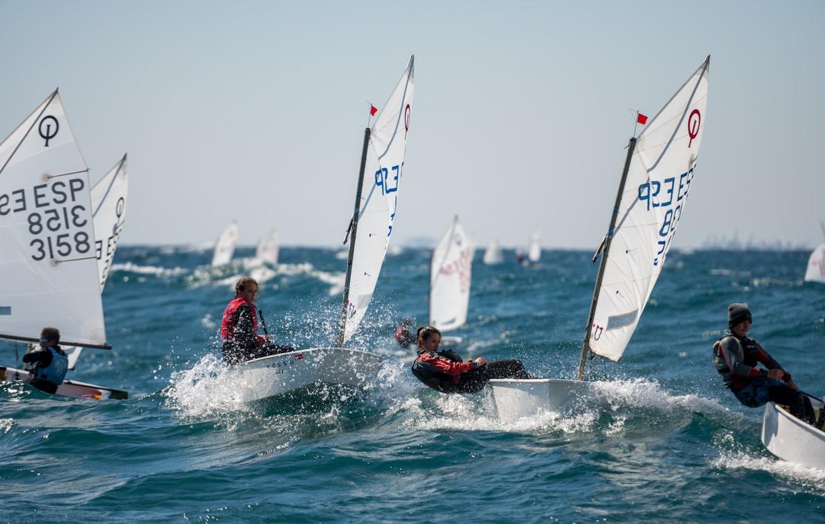 regata, optimist, noies, femení, Gran Premi