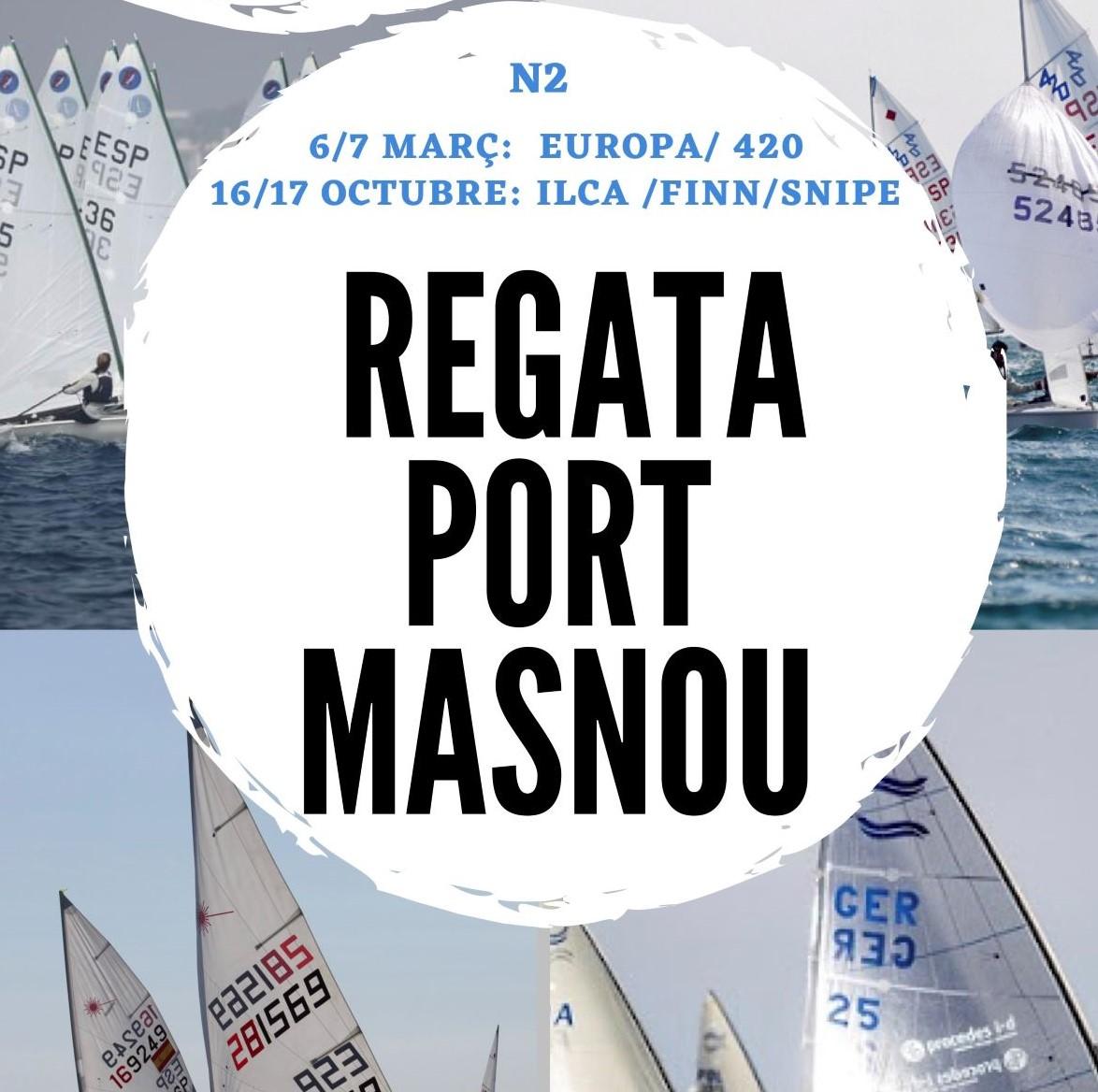 regata, port masnou, laser, 420