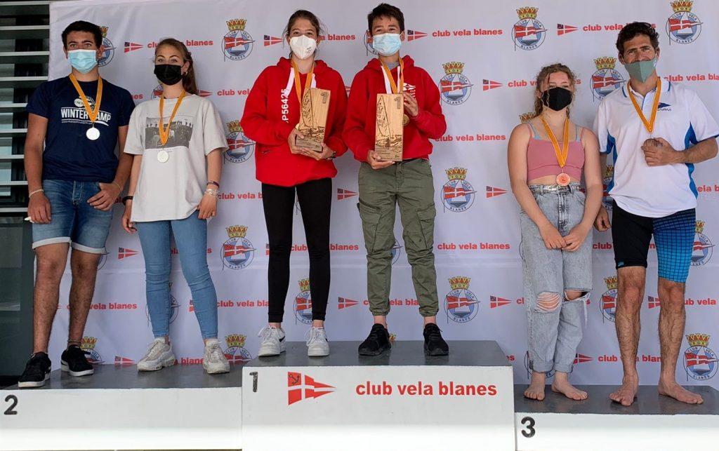 Campionat de Catalunya, 420, podi, categoria mixta, Pol Mateu, Ona Rigual