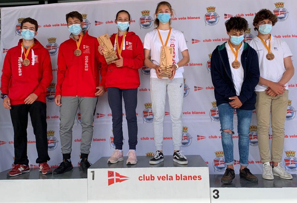Campionat de Catalunya, 420, podi sots 19 M: Pedro Fernánez i Alejandro de Maqua, 1rs i Alex Martín i Luca Vázquez, 3rs