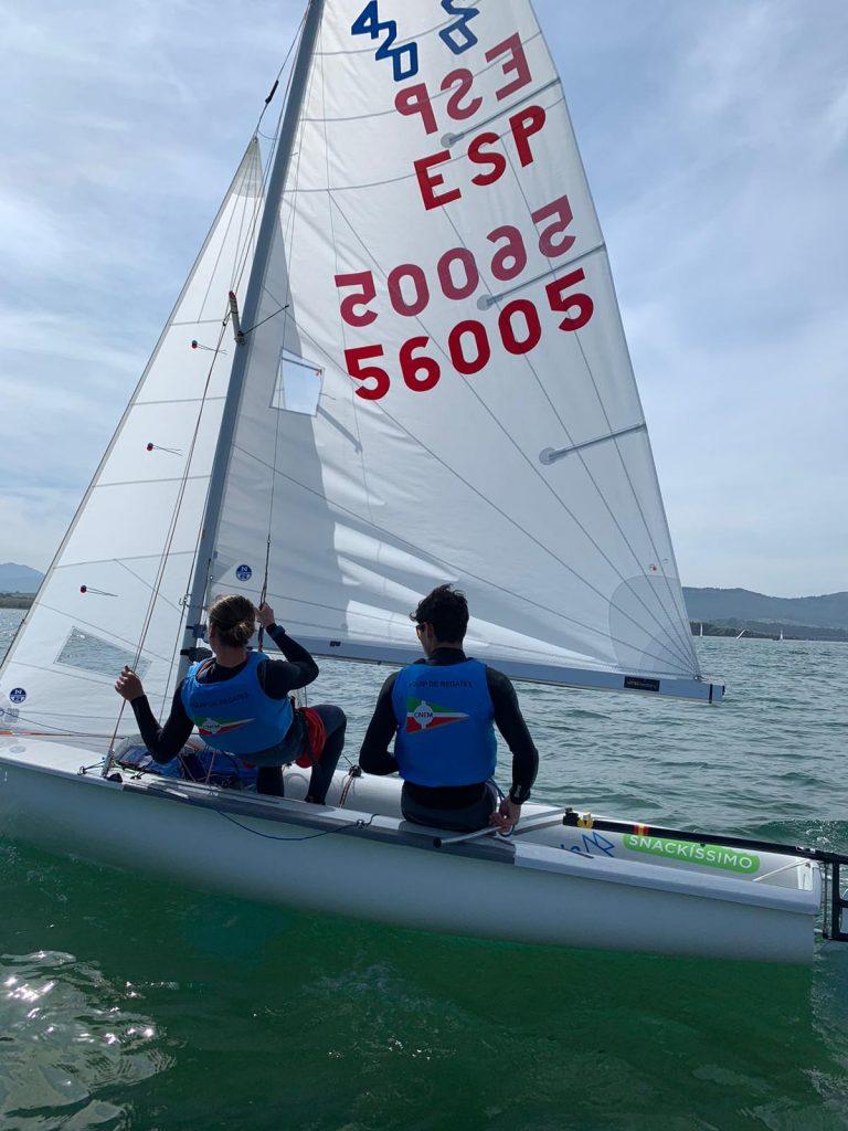 Campionat Catalunya, 420, equip, mixte, regata