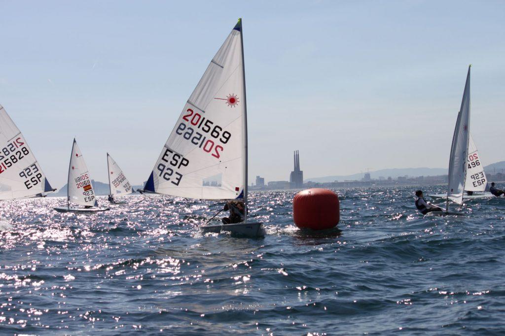 ILCA, laser, regata, Barcelona