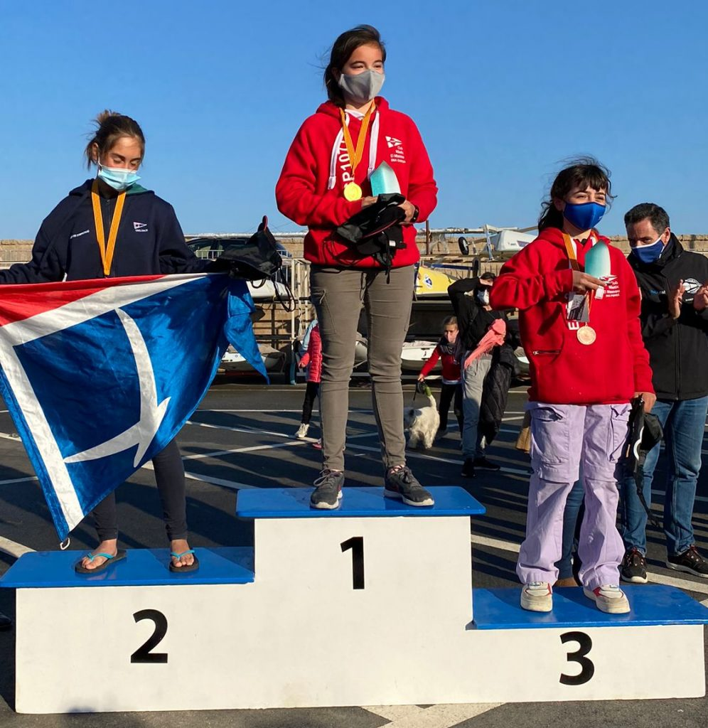 Campionat de Cataunya, optimist, Ona Garcia, 2021, podi