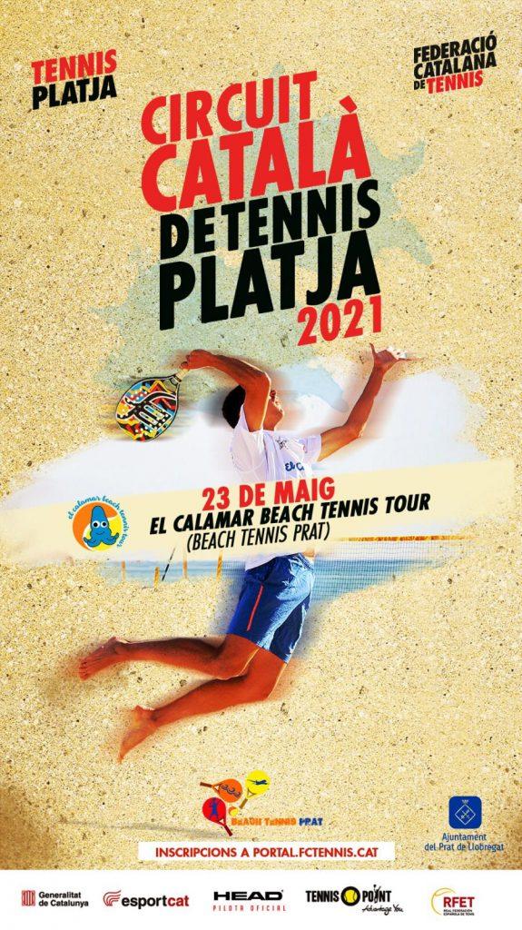 Circuit Català de Tennis Platja 2021 - Prat - Circuit Català, Ganesha Diaz, tennis platja - TENNIS PLATJA