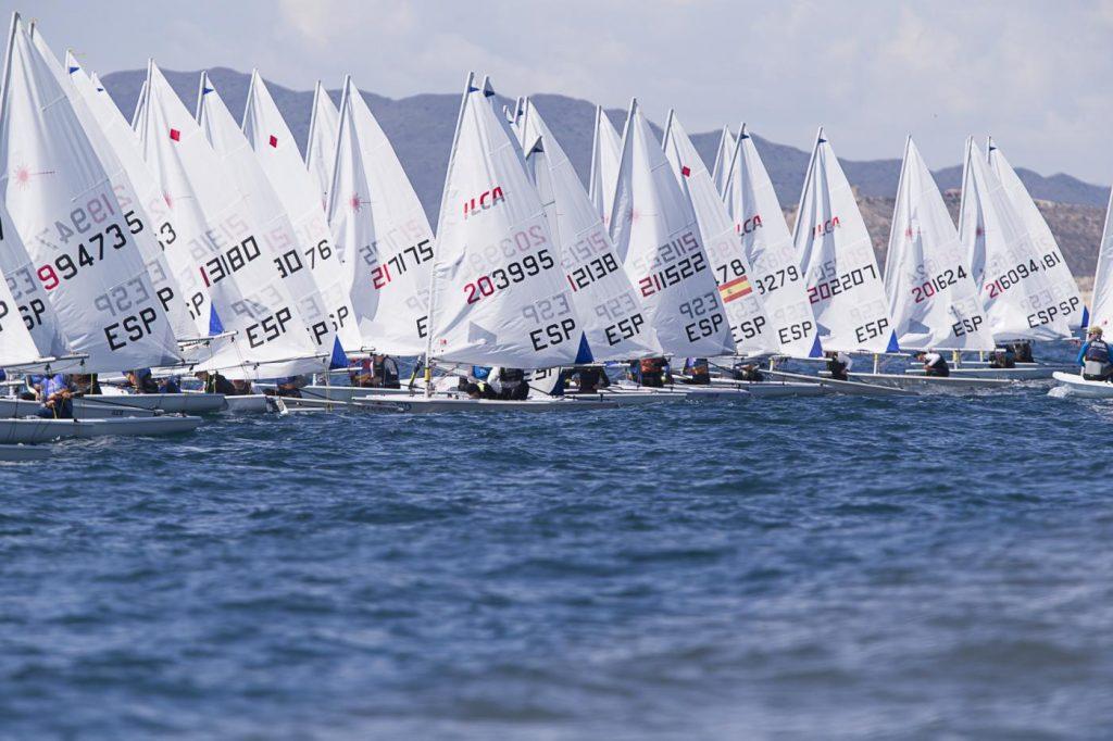 Campionat d'Espanya, ILCA 6, laser, Murcia, 2021, regata
