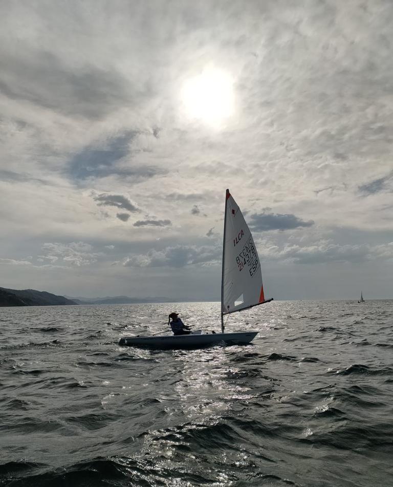 Campionat Espanya, ILCA 6, Laura Pedraza, regata