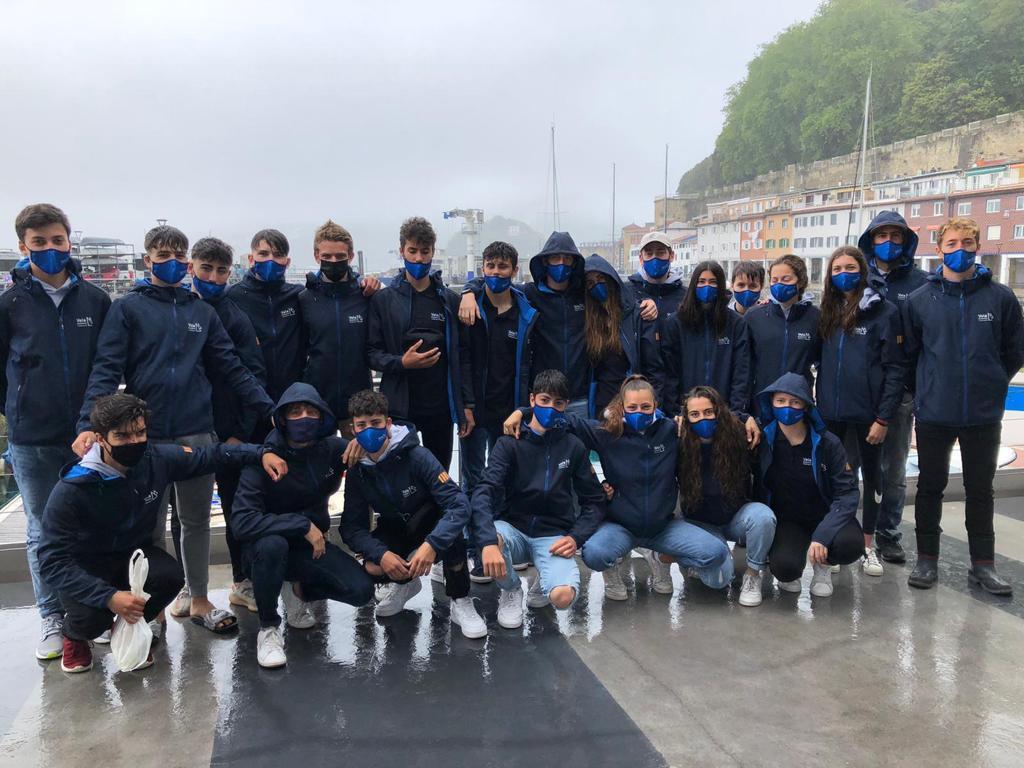 Campionat Espanya, ILCA 4, equip català, San Sebastian