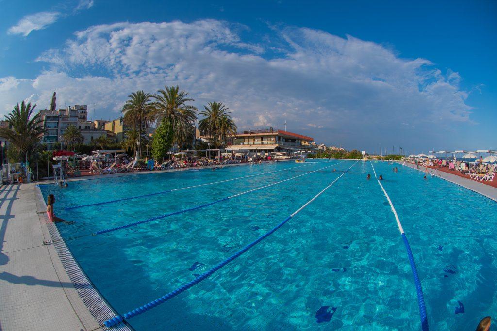 piscina, piscina exterior, olímpica, estiu, club nàutic, natació