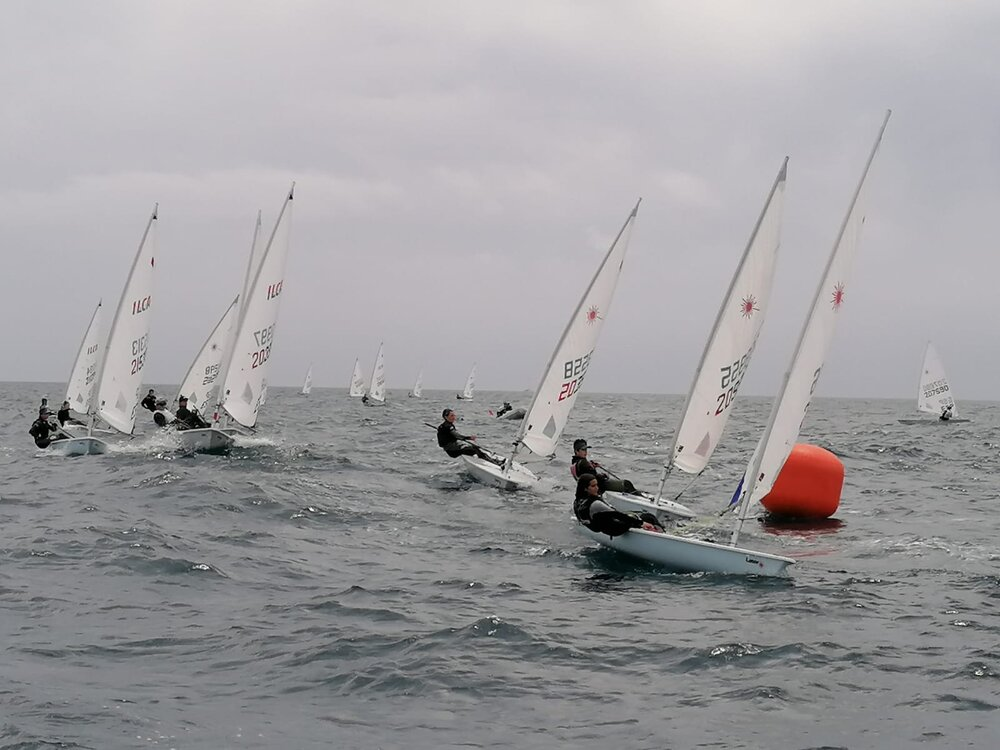 ILCA 6, ARENYS DE MAR, regata