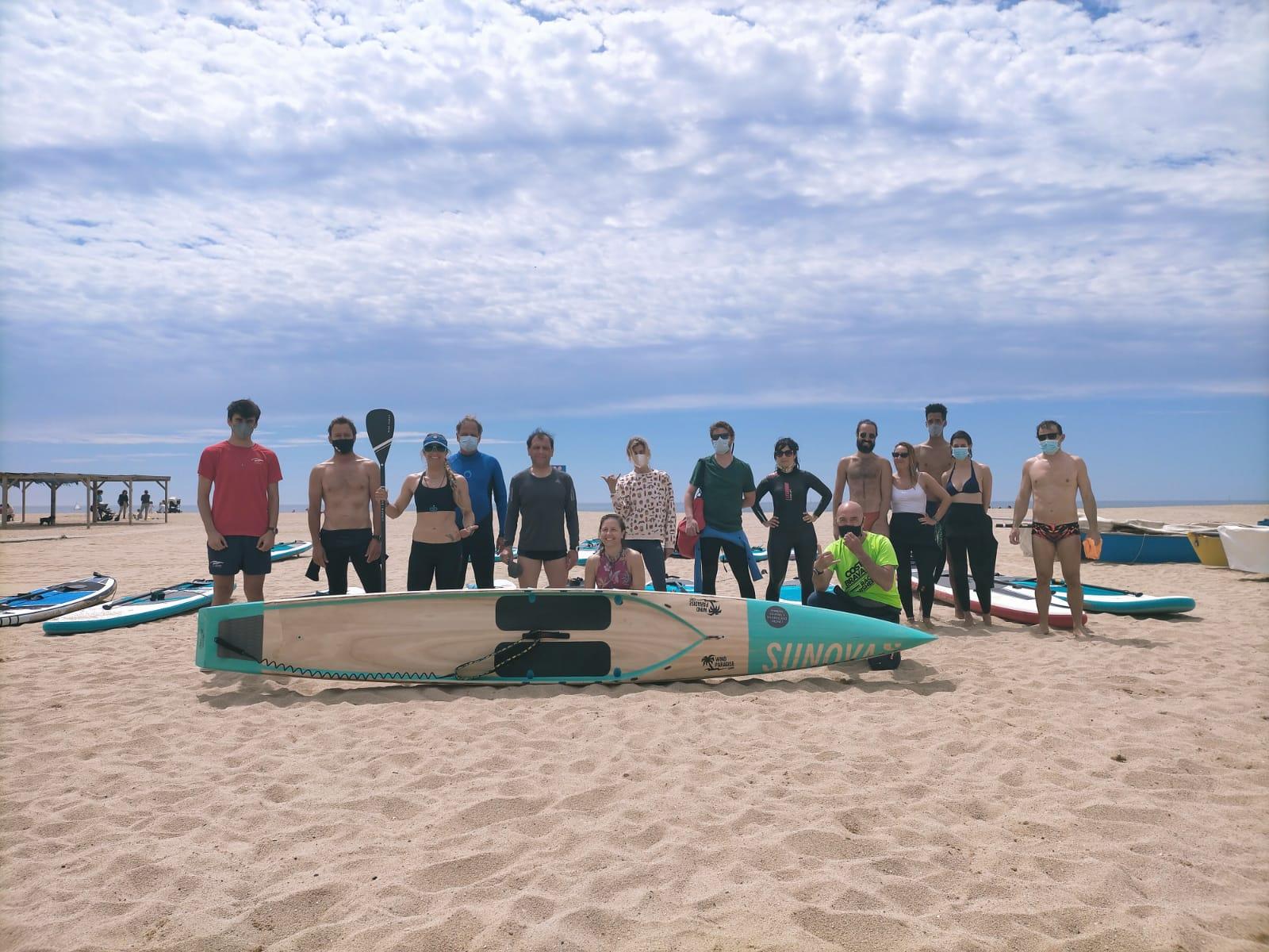 paddle surf,