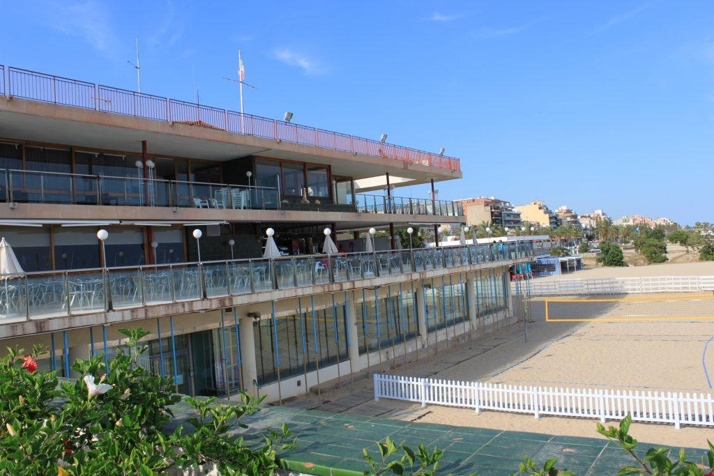 el nàutic, terrassa, club, seu, edifici