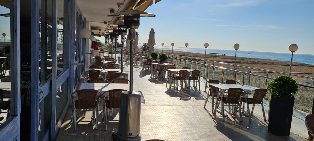 restaurant, nàutic, el nàutic, instalacions, terrassa, vistes, mar