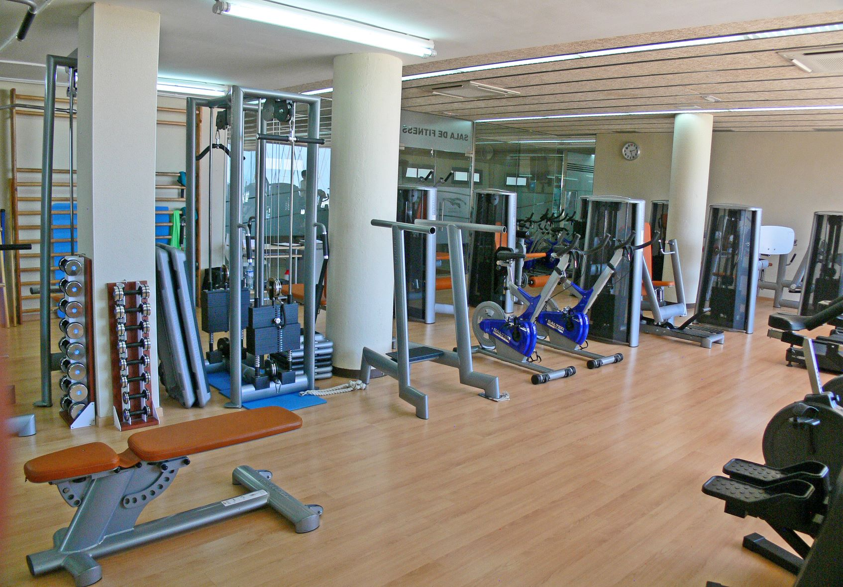 fitness, sala, gimnàs, instalacions, club, nàutic, gim, musculació,