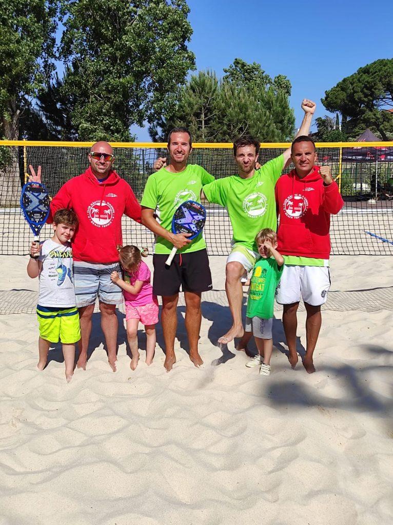 L'equip femení del CNEM subcampiones de la Liga Interclubs de Tennis Platja. - Lliga interclubs, tennis platja - TENNIS PLATJA