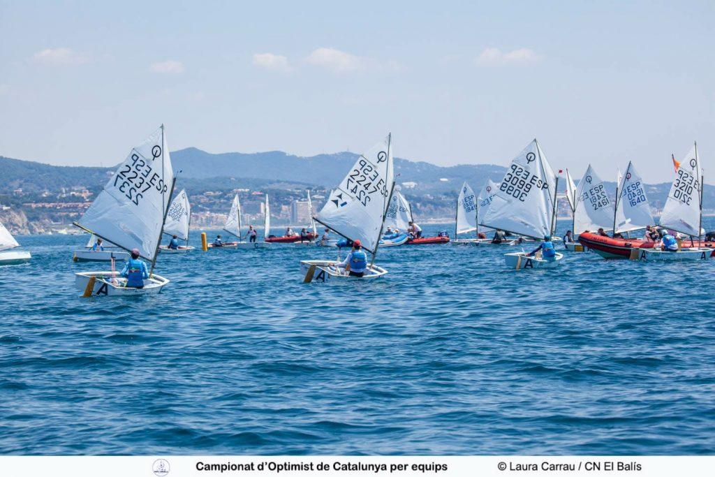 2021 Campionat CAT equips Optimist