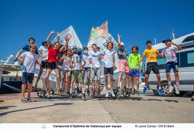 2021 Campionat CAT equips Otimist