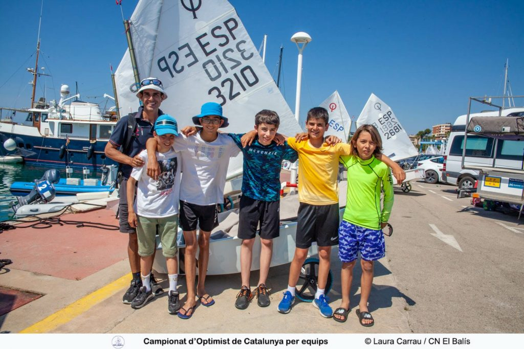 2021 Campionat CAT Optimist Equips - Equip 1