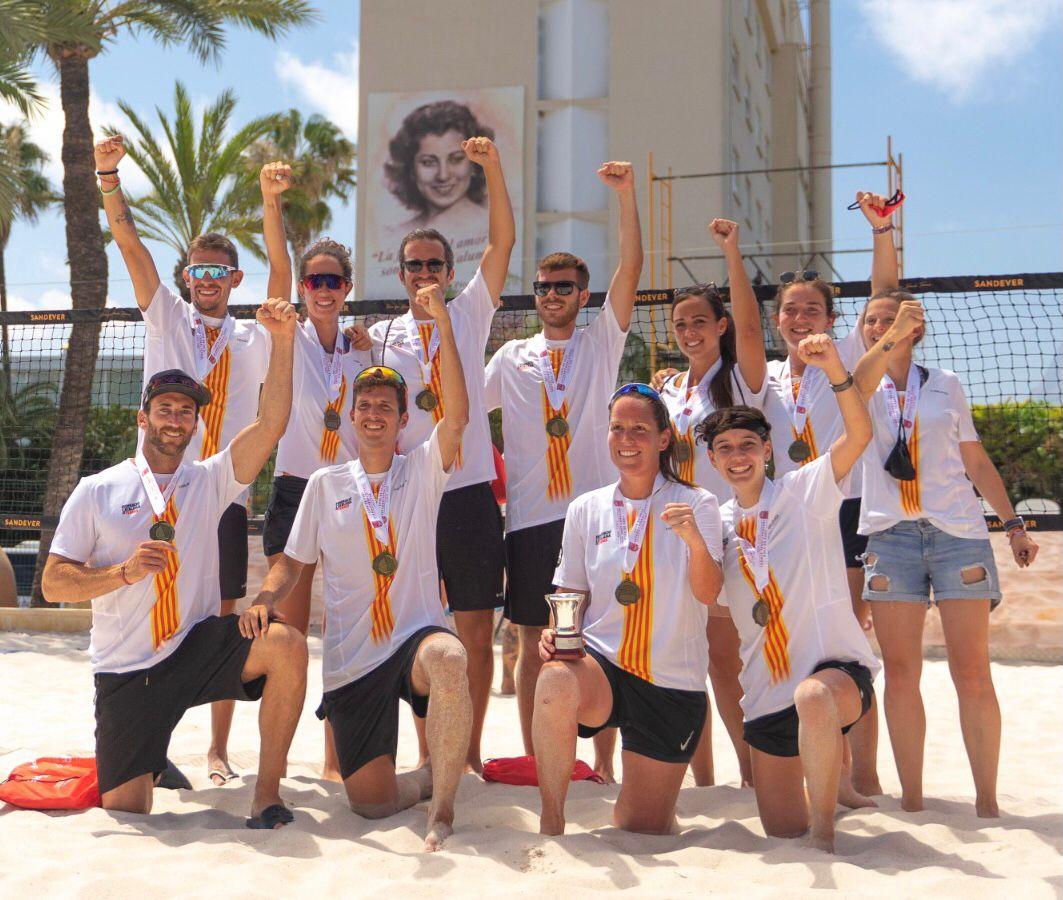 CAT Campiona d'Espanya de Beach Tennis