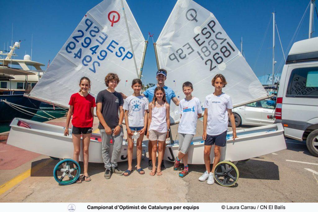 2021 Campionat CAT equips Optimist - Equip 2