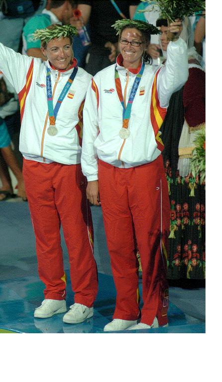 Natàlia Via Dufresne, Sandra Azón, 2004, Atenes, palmarès, nautic, medalla, JJOO, olímpica, història