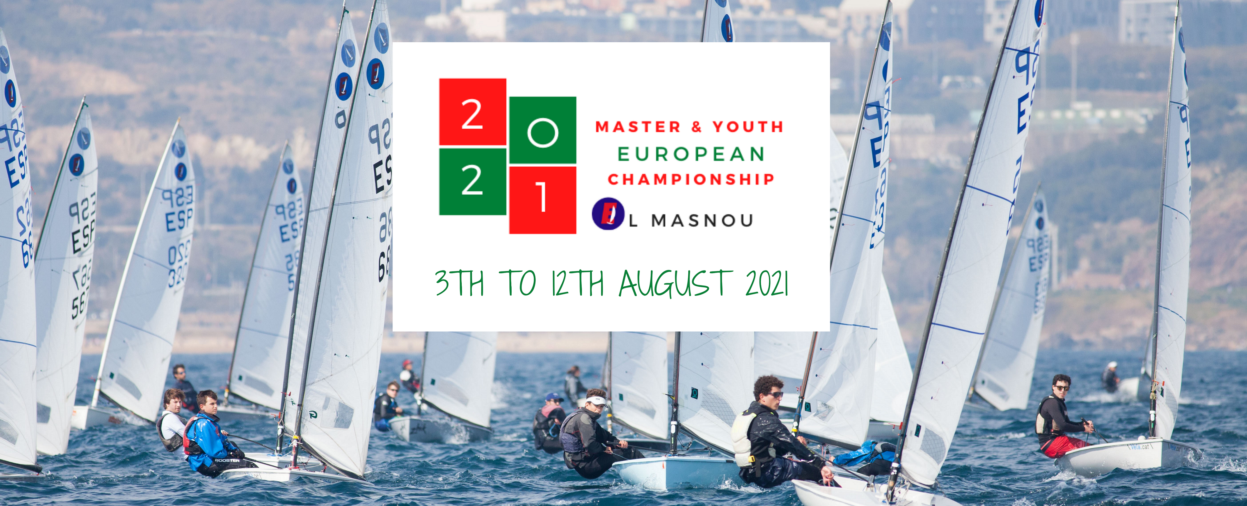 Tot a punt per al Youth European Championship de la classe Europa 2021 - El Masnou, Europa, Youth European Championship - EUROPA