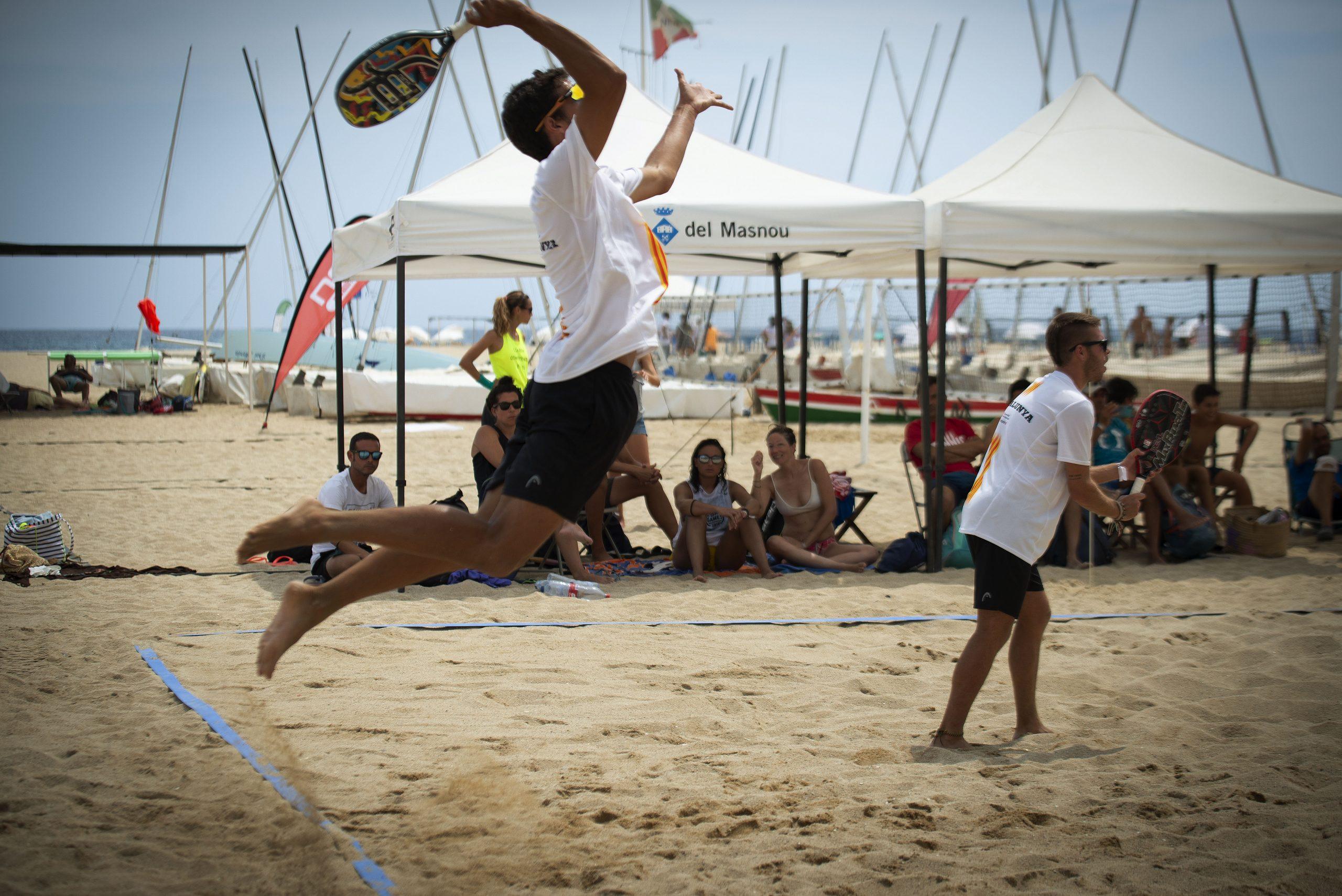 Sisena prova Lliga Mapfre de beach tennis al CNEM - 2021, beach tennis, Ganesha Diaz, Lliga Mapfre - beach tennis