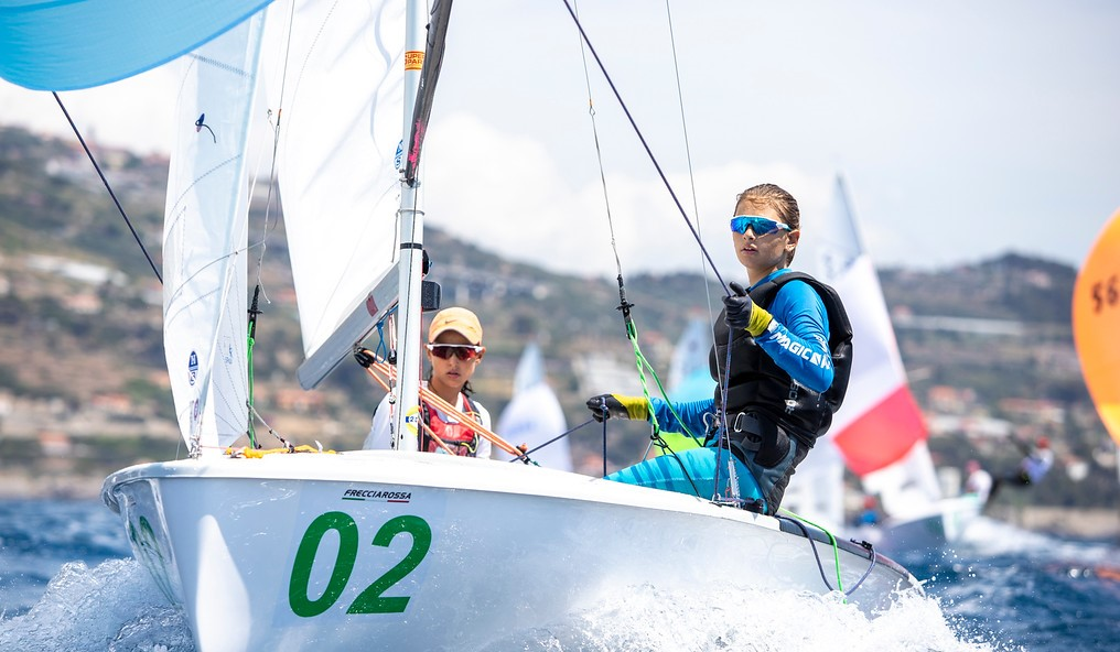 Nora Garcia, Mariona ventura, Campionat del Món, 420, 2021