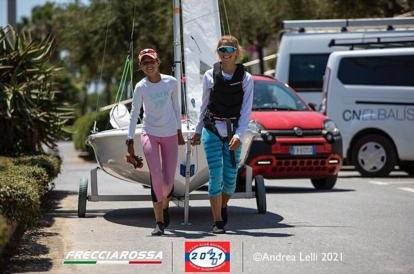 Nora Garcia i Mariona Ventura, al Campionat del Món de 420 - 420, Campionat del Món, Mariona Ventura, Nora Garcia - 420