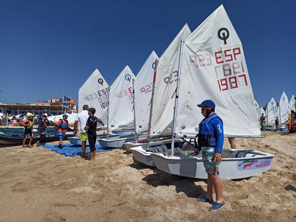 Trofeu Maresme, Optimist, 2021, regata, social
