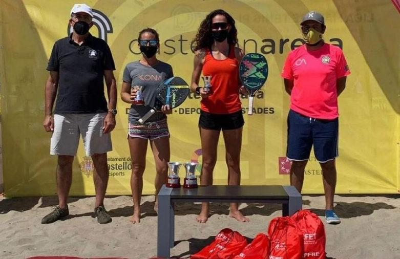 beach tennis, Ganesha Díaz, Tania González, 2021, Lliga Mapfre