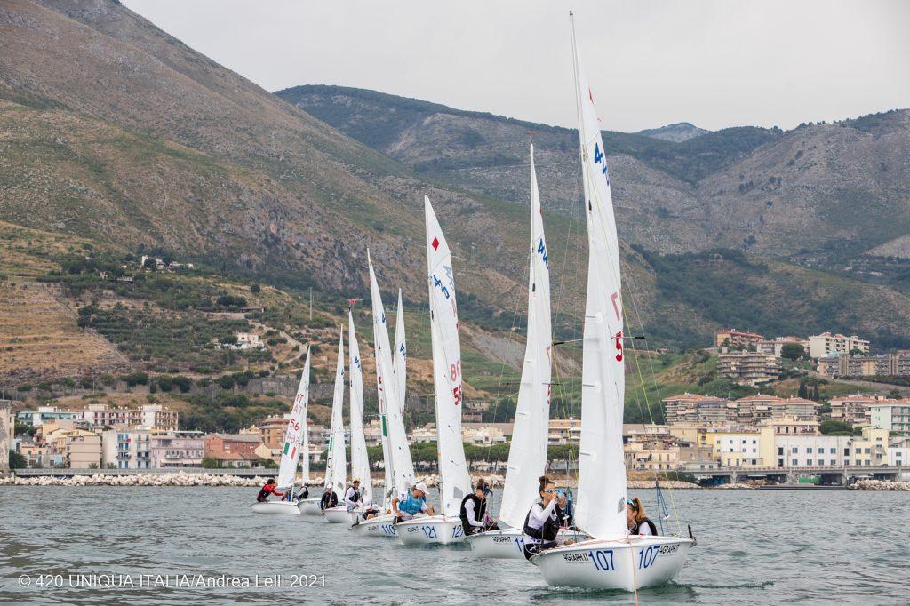 Nora Garcia i Mariona Ventura 6es femenines en les classificacions provisionals Sots17 a l'Europeu de 420 - 2021, 420, Campionat Europeu, Mariona Ventura, Nora Garcia - 420