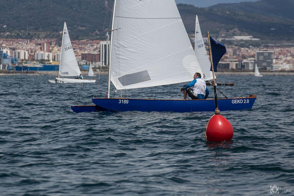 Ramon Puigoriol, 7è al campionat d'Espanya de Patí de Vela - 2021, Campionat d'Espanya, patí de vela - Patí de Vela