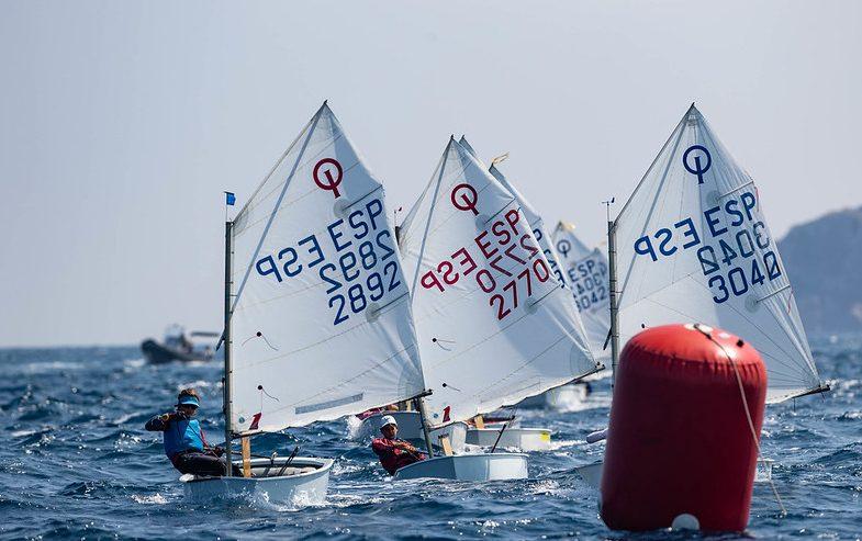 atena regata, L'Escala, 2770, Daniel Garcia de la Casa, Optimist