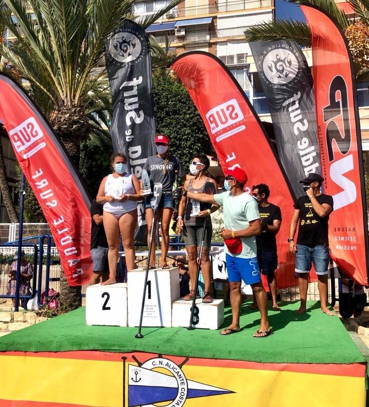 eli llargues, podi, sup, paddle surf, campionat d'espanya, 2021