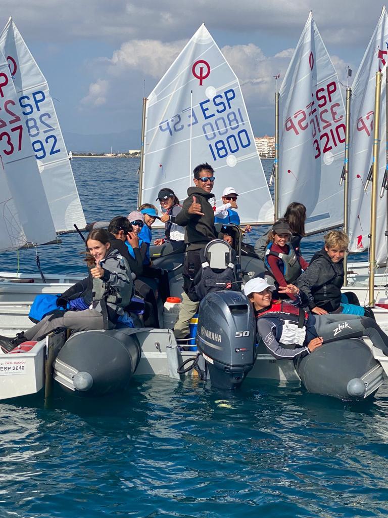 optimist, roses, equip, aigua, G1, Garcia Marco